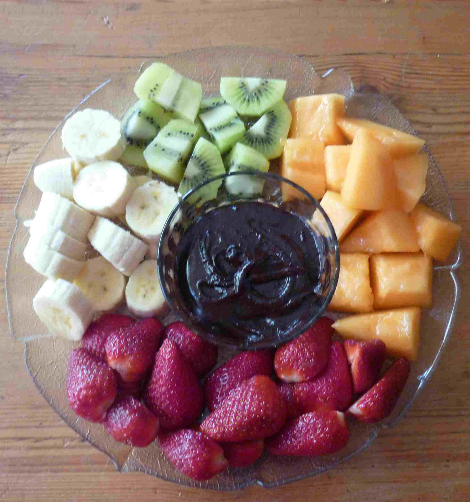 Fresh fruit dips for kids