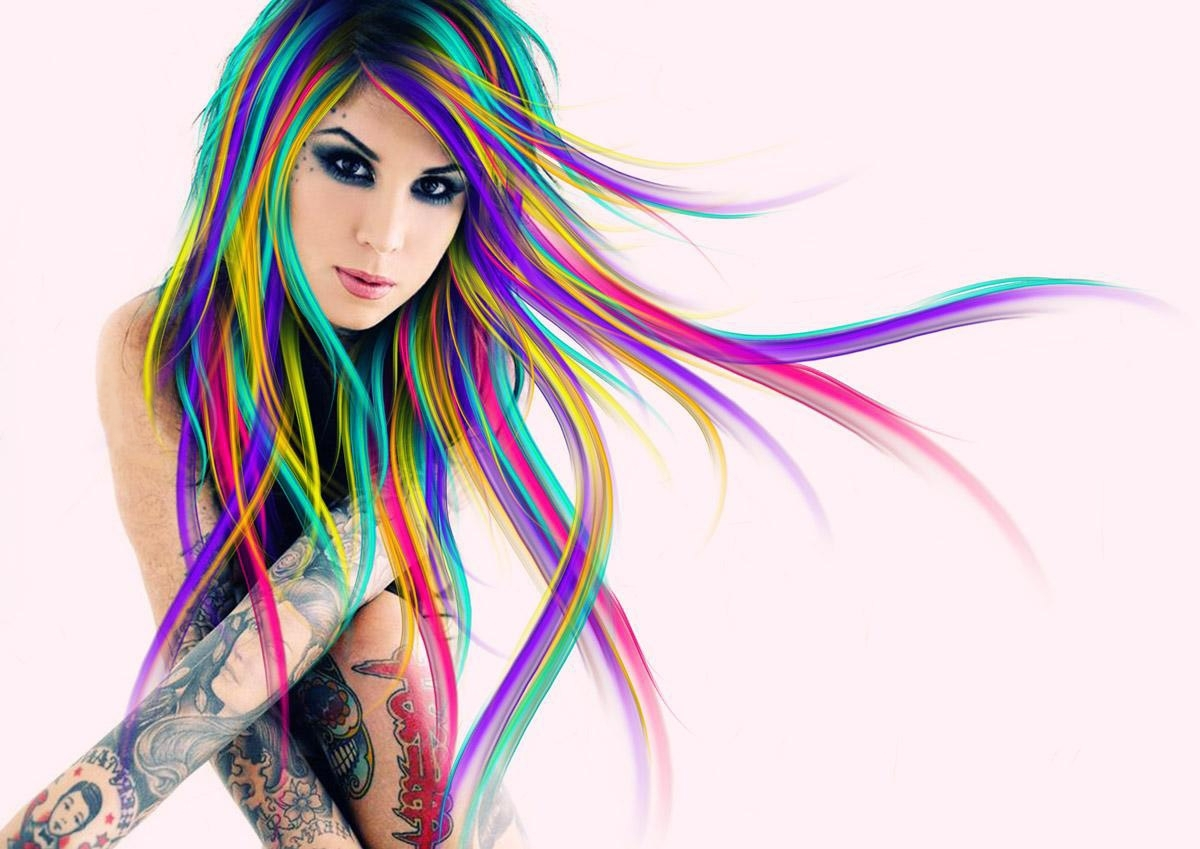 Multi Colored Hairstyles