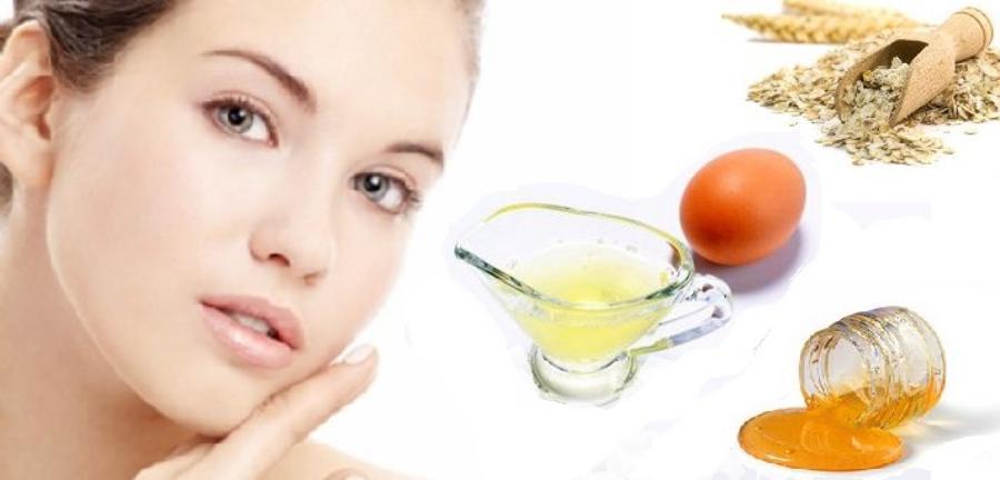 Honey and Egg Mask