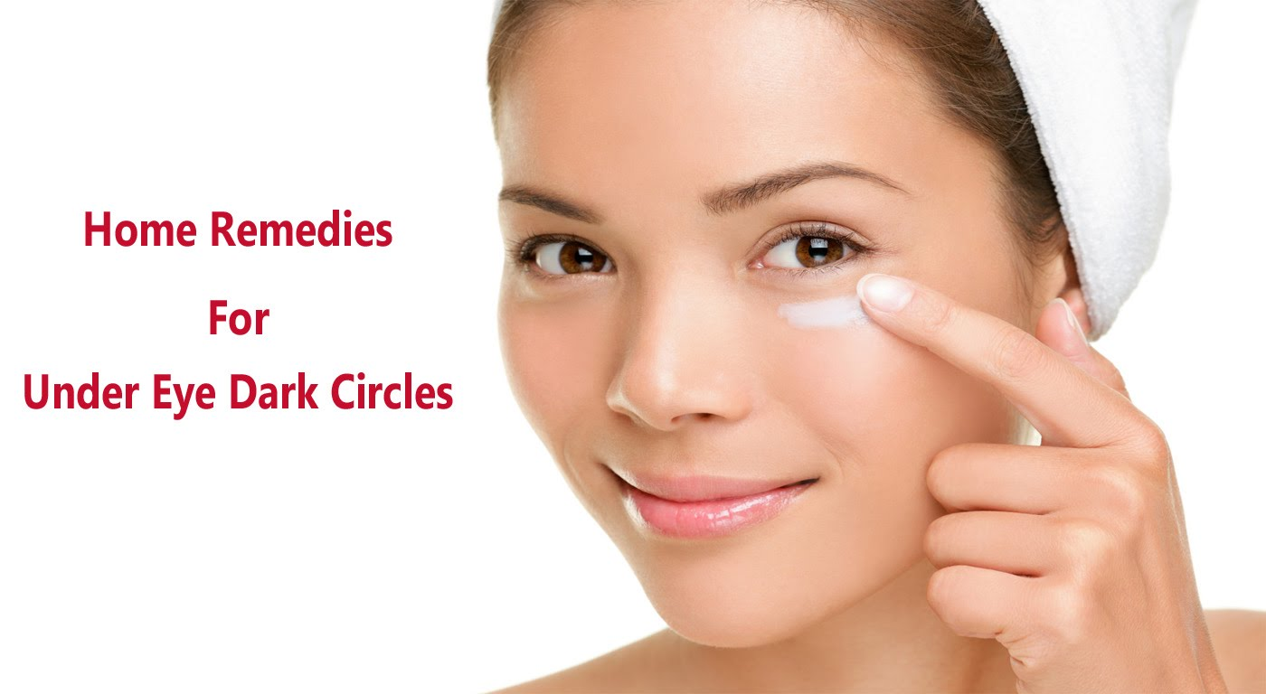 How To Remove Eye Dark Circles Naturally