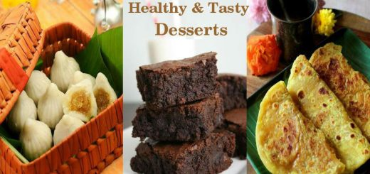 Healthy and tasty desserts