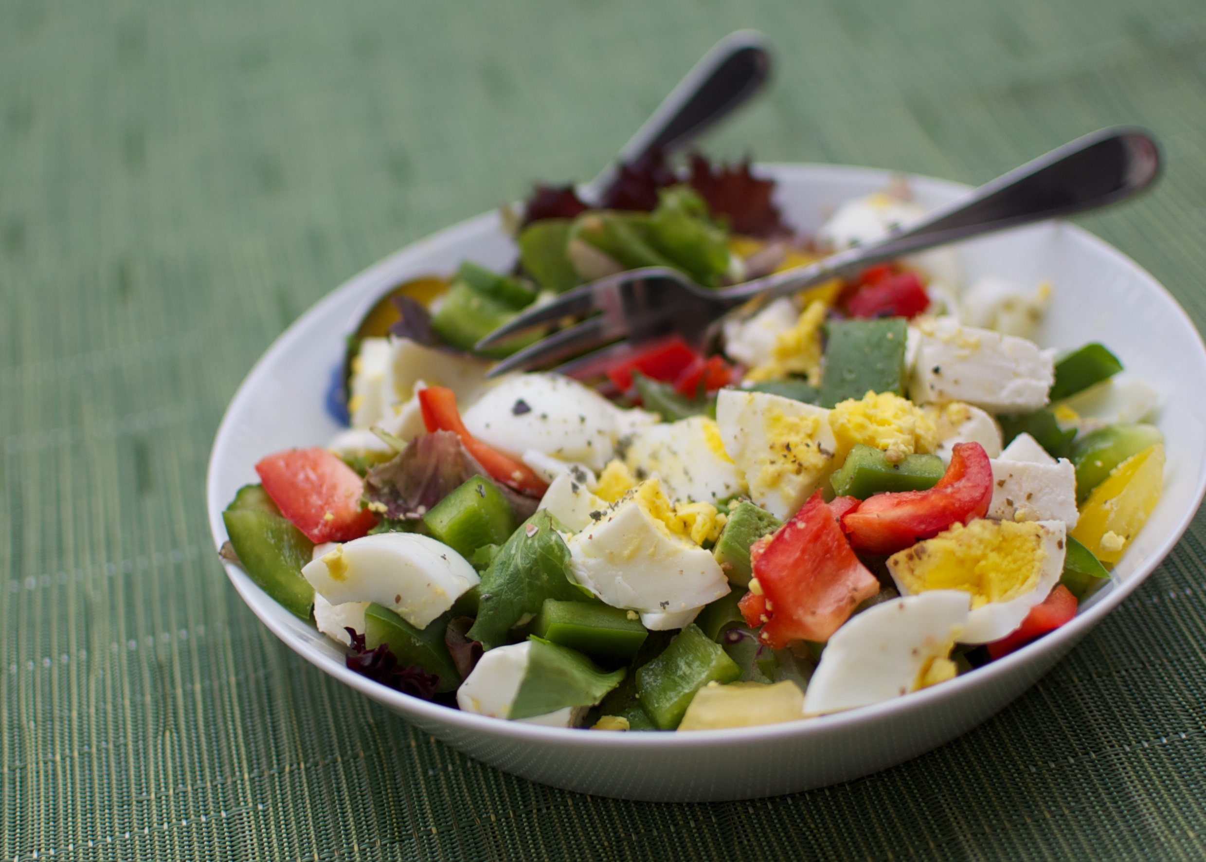 Egg Salad as a Healthy meal for kids