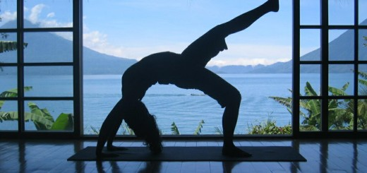Simple yoga at home