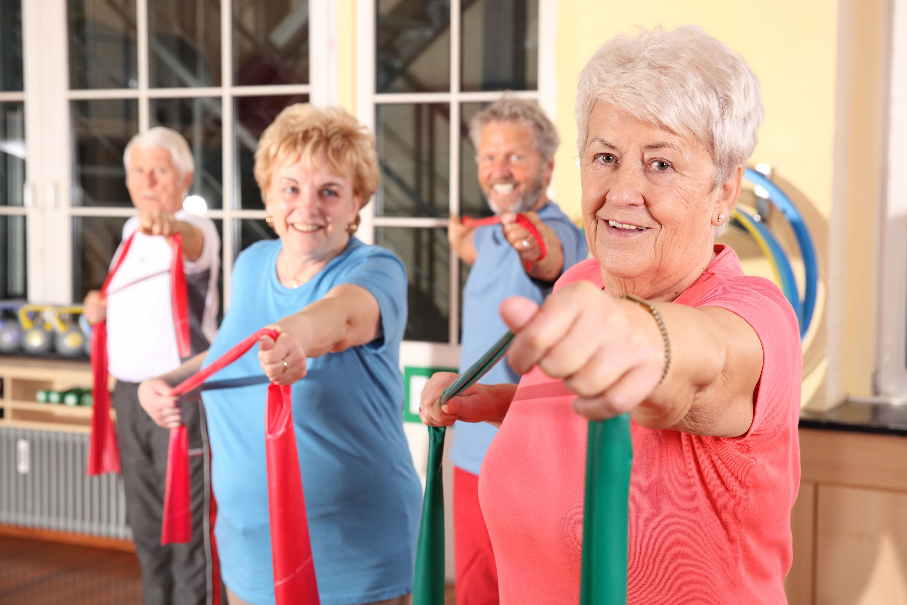Resistance exercises for osteoporosis