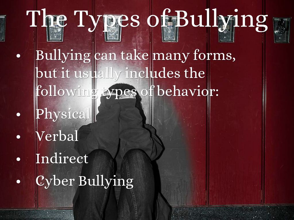 types-of-bullying