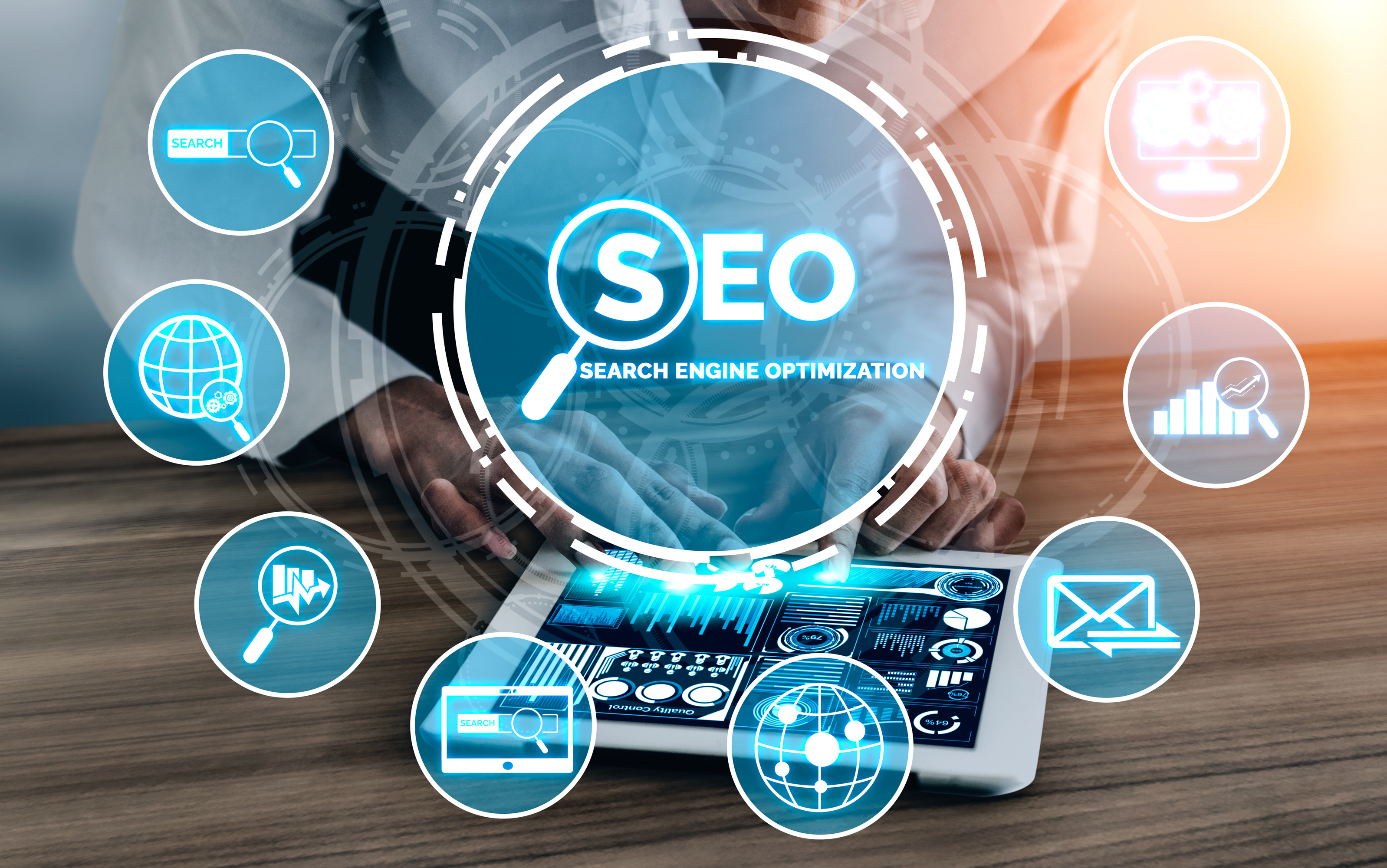 seo search engine optimization business concept - Why Should You Invest in SEO for Your Company?